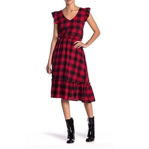Abound buffalo print dress size XL